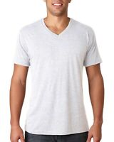 Next Level Apparel Mens T-Shirt Triblend V Neck 6040 S-2XL Short Sleeves Tee
