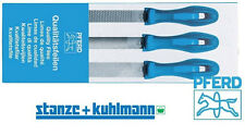 PFERD Feilensatz 3-tlg. Feile 200mm; Halbrundfeile Feilraspel Raspel Universal