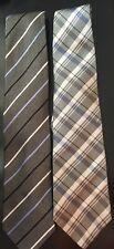 Lot Of Mens Neckties Gray Izod