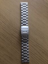 SEIKO SOLID STAINLESS STEEL STRAP STRAIGHT LUG 22mm BARGAIN!
