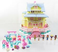 1995 Vintage Polly Pocket Clubhouse aka Pop-Up Party Play House *COMPLETE*