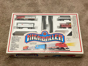 Bachmann 5 Highballer N Scale Electric Train Starter Set Very Rare NIB!