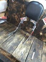 04 05 06 Harley sportster xl883 xl1200 mount sissy bar passenger backrest
