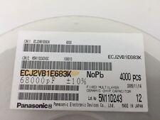 (150 pcs) Panasonic–ECJ-2VB1E683K, .068uF 25V 10% size:0805,Chip Capacitor(MLCC)