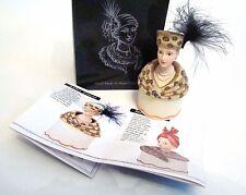 Willow Hall Ahead of Fashion AMBER SIMONE Lady Trinket Box