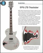 ESP James Hetfield Truckster guitar + 1996 Epiphone Dot Studio 6 x 8 article