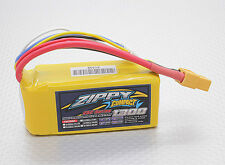New Zippy Compact 1300mAh 4S 14.8V 25C 35C Lipo Battery Pack RC XT60 XT-60 USA