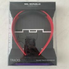 NEW SOL REPUBLIC SOUND QUICKSWITCH RED HEADBANDS FOR TRACKS HEADPHONES