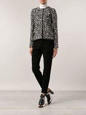 NWT PROENZA SCHOULER 8 $1275 black skinny pants heavyweight slacks trousers