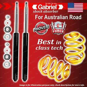 Front Gabriel Ultra Shocks + Lowered King Coil Springs for Toyota Cressida MX83R