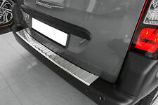 Stainless Steel Boot Sill Protection for CITROEN Space Tourer from Built 2016