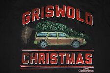 GRISWOLD CHRISTMAS Shirt Black Size 2XL Men National Lampoon's NWT