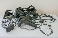 HTC Vive Virtual Reality System HMD + Deluxe Audio Strap + Controllers.