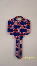 Chicago Cubs Kwikset House key blank