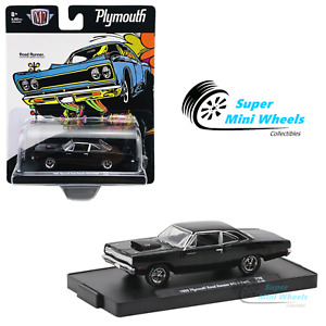 M2 Machines 1:64 - Auto-Drivers - 1969 Plymouth Road Runner 440 6-Pack R76 21-24