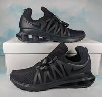 Nike Shox Gravity Black Sneakers Shoes Running Training Women's Size 8