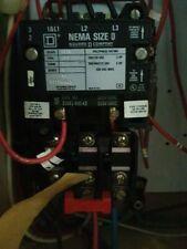 Square D Nema Size 2 80 Amps Starter 600 Volt 3 Pole With Control Transformer