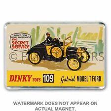 RETRO  DINKY TOYS - SECRET SERVICE- GABRIEL - ADVERT JUMBO Fridge /Locker Magnet