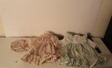 "VTG 70's Doll Dress fits 18-20"" American Girl, Ideal Toni, Mattel Cynthia x 2"