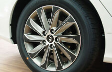 Left Right Carbon Tuning Wheel Sticker 17'' 1Set For 13 Hyundai YF Sonata : ix45