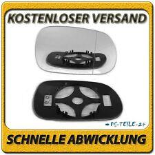Spiegelglas rechts asphärish für BMW Z3 E36 1995-2003 mit Platte Beheizbar