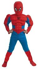 Spiderman Spider-Man Deluxe Muscle Chest Child Costume Size Small 4-6