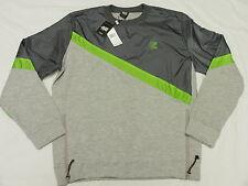 $79 NWT NEW Mens Rocksmith Fragment Crewneck Sweatshirt Grey Urban 3XL XXXL L930