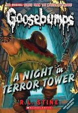 Classic Goosebumps: A Night in Terror Tower 12 by R. L. Stine (2009, Paperback)