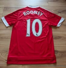 Authentic original Manchester United Home football shirt 2015/16 ROONEY #10 - M