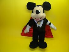 New listing Toy Factory Disney Vampire Mickey Mouse Stuffed Animal Plush Pre-owned
