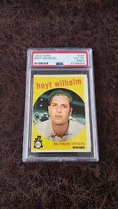 1959 Topps Hoyt Wilhelm #349 - PSA 4 (MC) - Baltimore Orioles