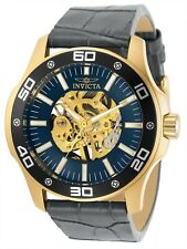 Invicta Men's Specialty 30772 45mm Blue Dial Leather Watch