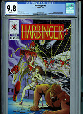 Harbinger Issue #3 CGC 9.8 NM/MT Certified With Coupon Valiant Comics 1992 K26
