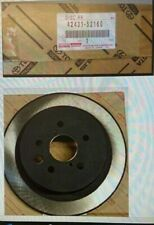 TOYOTA URBAN CRUISER  2009-2016 REAR BRAKE DISCS