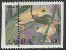 Zambia (1913) - 1989 Reed Frog PERFORATION  SHIFT unmounted mint