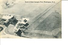 Washington, NJ  Earle S. Eckel Autogiro Port  Early 1930s   Pitcairn Autogiro