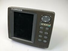 Lowrance X100C Color fishfinder sonar (head & cover ,No other Accessories)