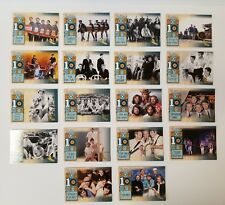 2013 Panini Beach Boys Top 10 Hits Complete Set of 18 Cards w/ Gold Surfer