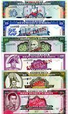Haiti ... P-265s-270s ... 10-500 Gourdes ... 2000 ... Choice*UNC*. Specimen Set
