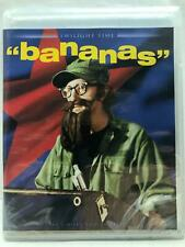 NEW BANANAS BLU RAY (1971) TWILIGHT TIME REMASTERED WOODY ALLEN COMEDY MOVIE