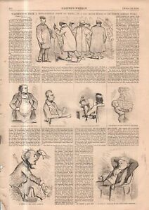 1858 Harper's Weekly April 10 Print only - An Islamic view of Washington DC