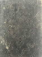 1855 Oxford Bible Leather Old & New Testament Wolfe Island Diamond 16s