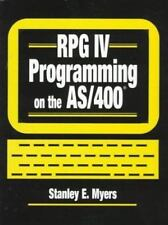 RPG IV Programming on the AS/400, Stanley E. Meyers, Good Book