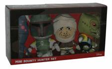 Dengar IG-88 Comic Images Star Wars Boba Fett Bossk Mini Bounty Hunter 4.5 Plush Set