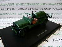 TR12W Tracteur 1/43 universal Hobbies : JEEP AGRICOLE 1962 épandeur