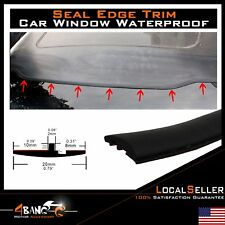 Auto Rubber Seal Weather Stripping Edge Trim Defend Windshield Waterproof 20ft