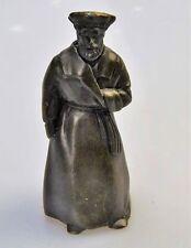Bronze Glocke Kirchenglocke Tischglocke alter Mann Klingel