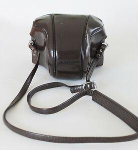 Nikon Nikkormat Leather Shaped Brown Camera Case
