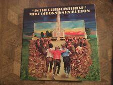 MIKE GIBBS & GARY BURTON - In The Public Interest ~ POLYDOR 6503 {orig} wSwallow