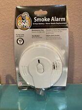 Kiddie 21009994 Code One 10-Year Battery Operated Ionization Smoke Alarm NEW!